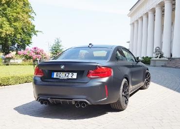 BMW M2 Kennzeichenhalter
