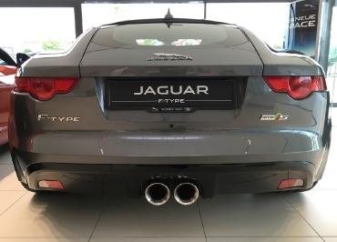 Jaguar F-Type CarSign Kennzeichenhalter schwarz-glanz und Inlay