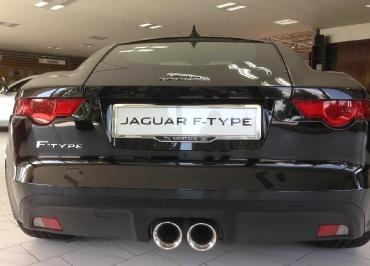 F-Type Jaguar Kennzeichenhalter Chrom und Inlay von Jaguar Augsburg