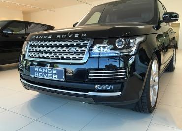 Range Rover Kennzeichenhalter CarSign Edelstahl Chrom