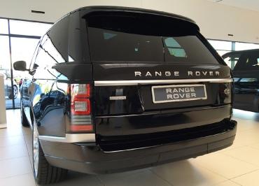 Range Rover Kennzeichenhalter CarSign mit Edelstahl Chrom und Lasergravur