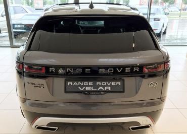Range Rover VELAR Kennzeichenhalter schwarz-glanz und Inlay