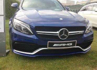 C63 S AMG Kennzeichenhalter Mercedes-Benz verchromt