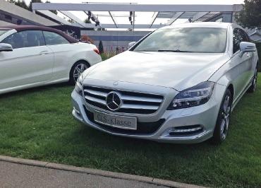 Kennzeichenhalter Mercedes CLS Shooting Brake Edelstahl Chrom