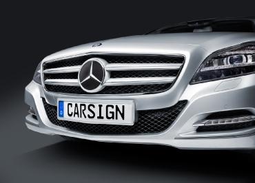 Kennzeichenhalter Mercedes-Benz Original Edelstahl Chrom für CLS