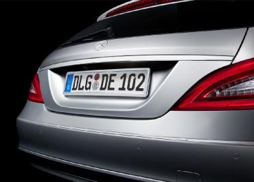 Kennzeichenhalter Chrom Mercedes-Benz original von CarSign