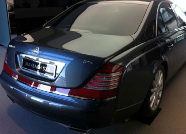 Maybach 57 S Kennzeichenhalter Mercedes-Benz Edelstahl Chrom