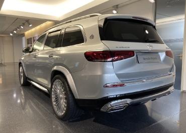 Mercedes GLS Maybach CarSign Kennzeichenhalter Chrom