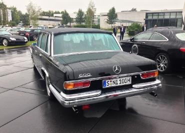 Kennzeichenhalter Edelstahl Chrom Mercedes 600