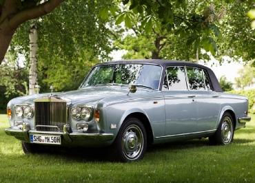 Rolls-Royce Silver Shadow Front Kennzeichenhalter poliert