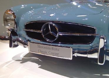 Mercedes-Benz Classic - offizieller Kennzeichenhalter von CarSign