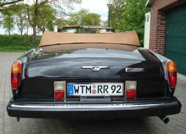 Kennzeichenhalterung-Classic-Rolls-Royce-Corniche