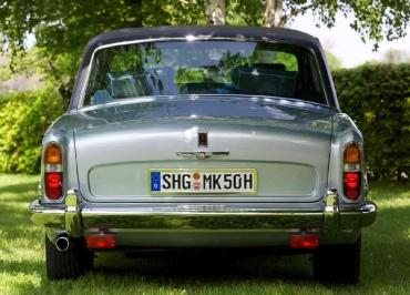 Rolls-Royce Silver Shadow Kennzeichenhalter poliert