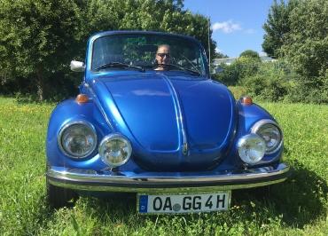 VW Kaefer Kennzeichenhalter nur für Front