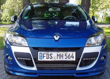 CarSign Kennzeichenhalter Edelstahl Chrom Renault Mégane