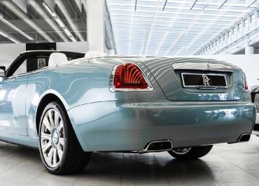 Rolls-Royce Kennzeichenhalter deluxe mit CarSign Edelstahl Chrome