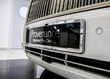 Rolls-Royce Kennzeichenhalter Edelstahl Chrom und Lasergravur