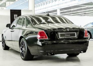 Rolls-Royce Ghost Heck mit Kennzeichenhalter Chrom