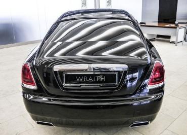 Rolls-Royce Wraith Kennzeichenhalter Chrom und Händler-Inlay