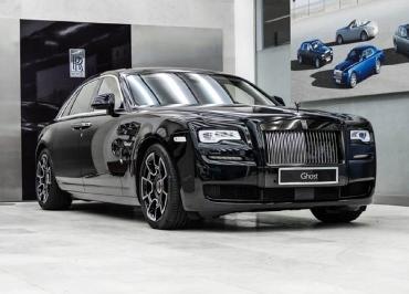 Rolls-Royce Ghost Kennzeichenhalterung Edelstahl verchromt mit Frontbiegung