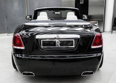Rolls-Royce Cabriolet Kennzeichenhalter Edelstahl Chrom