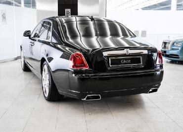 Rolls-Royce Ghost Kennzeichenhalterung aus Edelstahl Chrom