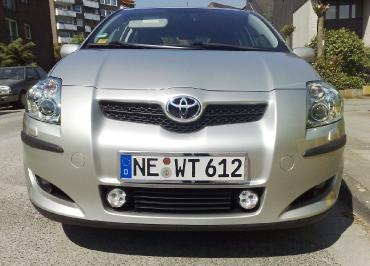 Toyota Kennzeichenhalter für Front in Edelstahl Chrom