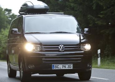 VW T5 Volkswagen Kennzeichenhalter Edelstahl Chrom