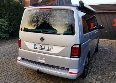 VW T6 California Kennzeichenhalter Chrom